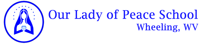 Our Lady of Peace School Logo